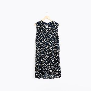 Maeve Sleeveless Front Button Dress